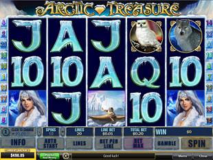 Arctic Treasure slot game online review