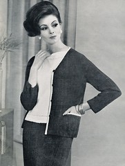 1962 (Classic Style of Fashion (Fourth)) Tags: 1962 vintagefashion vintagemagazine 1960s 1960sfashion