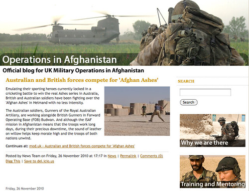 Operations in Afghanistan - Official blog for UK Military Operations in Afghanistan