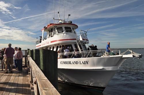Ferry to Cumberland Island National Seashore