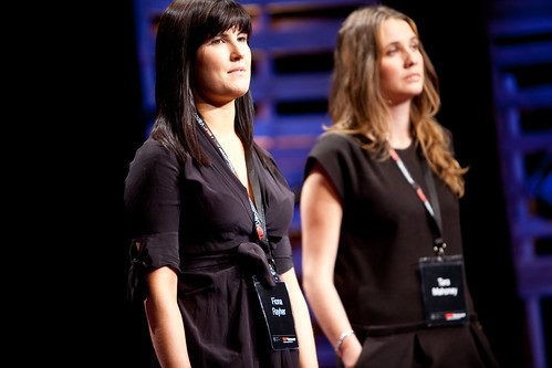 Fiona Rayher and Tara Mahoney - TEDx Vancouver 2010 - West Vancouver, BC