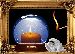 1. Advent (Eisgrfin (very busy)) Tags: angel fire advent kerze candlelight engel streichholz schneekugel eisgrfin