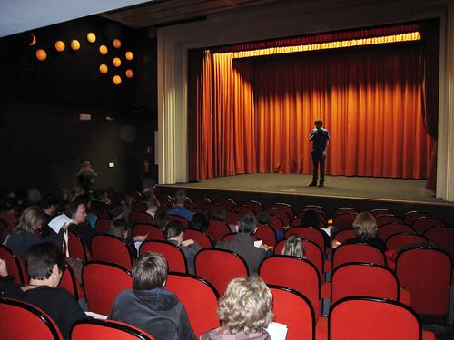 voorstelling selectie in film-plateau