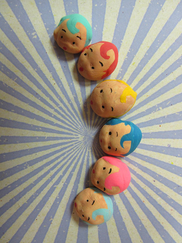Mini Kewpie Heads! 4