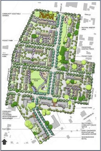 Clackamas Heights reconceived (by: Housing Authority of Clackamas County)