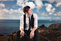 Adam Young - Owl City (Jeremy Snell) Tags: ocean city blue portrait sky adam clouds hawaii promo eyes young owl honolulu fireflies oceaneyes owlcity adamyoung jeremysnell