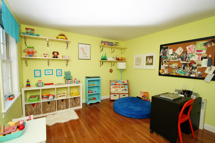 Playroom view