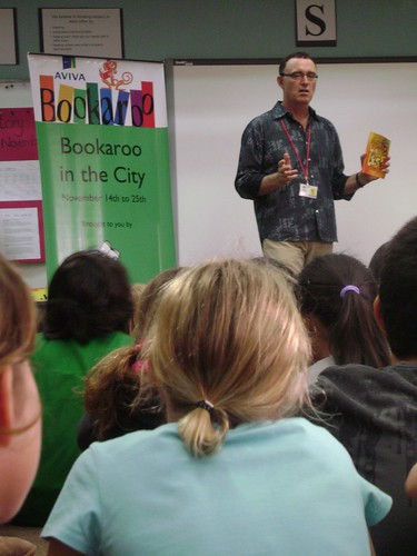 Ken introduces children to the character Jake in his books