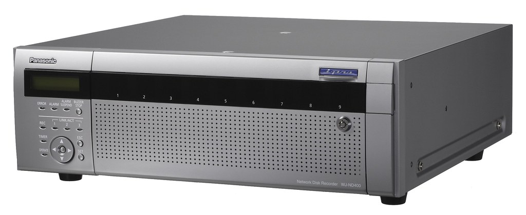 Multi-format Network Video Recorder (NVR) from Panasonic
