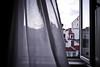 Ocean breeze (Kaunokainen) Tags: shadow summer portugal window hotel hostel europa europe estate wind lisboa lisbon room curtain capital finestra breeze brezza tenda vento lisbona portogallo stanza iberianpeninsula penisolaiberica