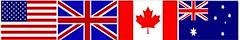 EnglishSpeaking Flags