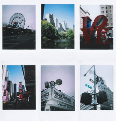 New York On Film (SOMETHiNG MONUMENTAL) Tags: city newyork streets love film coneyisland fuji centralpark mini moma timessquare april instant fifthavenue 2010 somethingmonumental mandycrandell