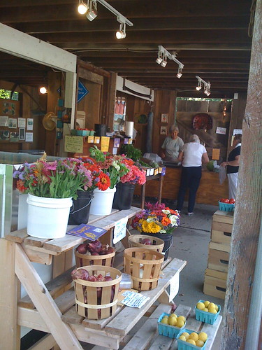 farm stand at PVF