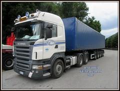 Scania R560 (DaveFuma) Tags: scania r560 autocarro camion trasporto eccezionale trattore stradale coils truck lorry wide load schwertransporte lkw