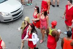 Red Dress Run (MJfest) Tags: louisiana neworleans rdr dress reddressrun rdr2016 bourbonstreet nola frenchquarter red unitedstates us fav10