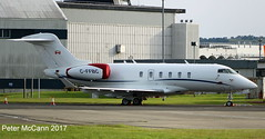 C-FFBC CL350 Glasgow July 2017 (pmccann54) Tags: cffbc challenger350