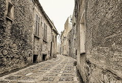 Ancient Lines (Francesco Impellizzeri) Tags: erice sicilia sicily travel landscape canon black white monochrome ngc