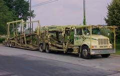 IH, Active #8206 (PAcarhauler) Tags: ih international carcarrier truck semi trailer