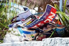 junk mail (Leonard J Matthews) Tags: junk mail notwanted mess australia mythoto paper urban