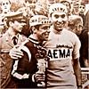 "1968 GIRO The New ""Coppi"" from Belgium! (Sallanches 1964) Tags: giroditalia 1968 magliarosa eddymerckx faema eddymerckxteam"