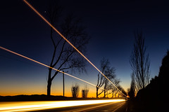 Light Trails (Sterling67) Tags: long exposure 2470 predawn silhouette light stars