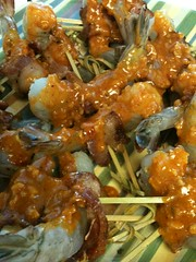 4831934714 877ca2debd m Spicey Grilled Shrimp Skewers