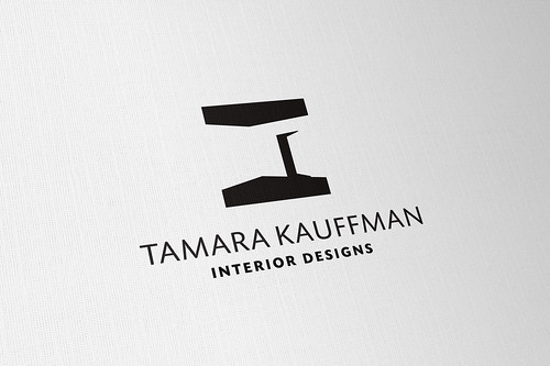 Logo process tamara kauffman interior design identity for Interior designs logos