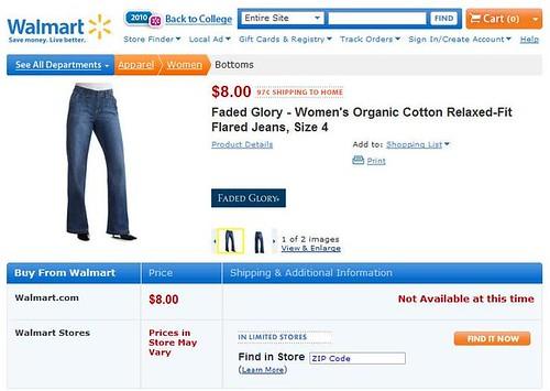 Walmart Women's Organic Cotton Pants 2