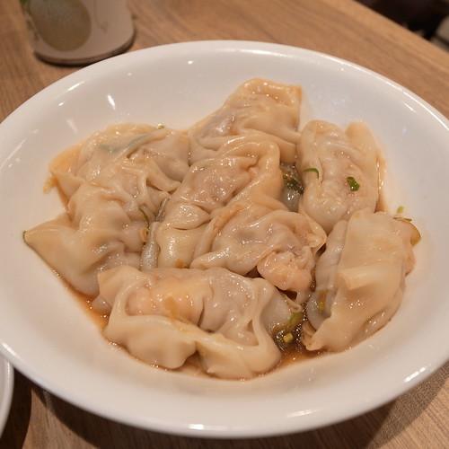 2010/07/28 鼎泰豐 - 蝦肉餛飩乾拌