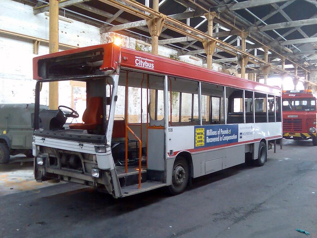 Plymouth Citybus 108 K108SFJ