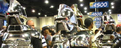 CYLON Cosplayers at SDCC