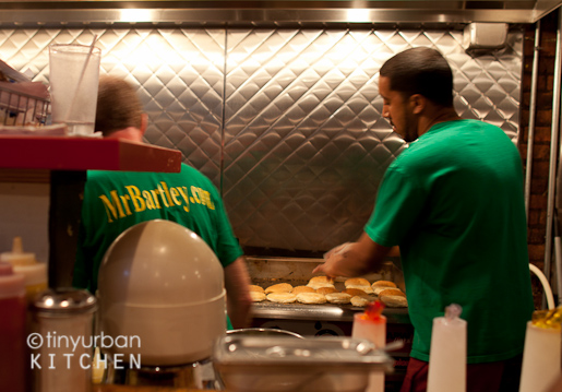 Bartley's Burgers Cooks