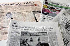 'The Times' i 'Financial Times' destaquen en p...