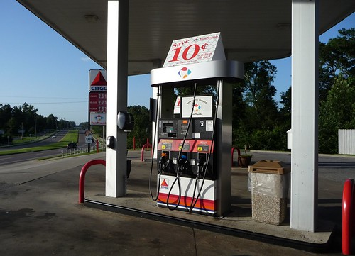 Citgo on a hot July day