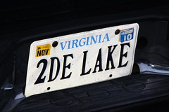 To the lake! (Gamma Man) Tags: lake water licenseplate vanityplate license watersports suv rva vanityplates ejc waterrecreation elijahjameschristman elichristman elijahchristman elichristmanrva