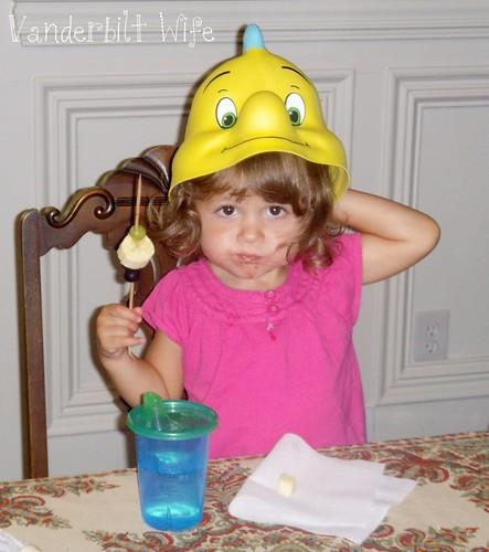 Megan's Flounder Hat