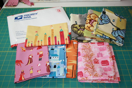 More fabric in the mail!