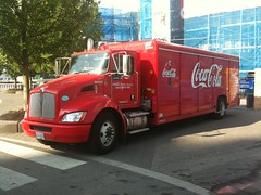 Hybrid Electric Coca-Cola Delivery Truck at Science World