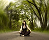 ___ (<amy.e.frost>) Tags: road trees blur long bend sp zen radial storypeople