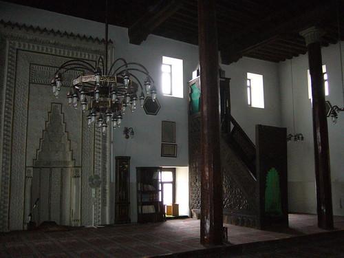 P1040822   Ahi Elvan Camii, mirhab et minbar