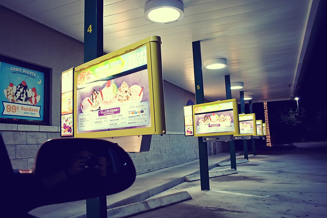 late night Sonic run