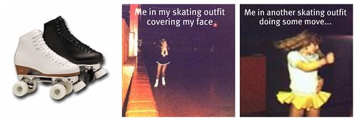 skating collage
