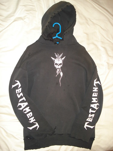 1997 Testament Tour Hoodie