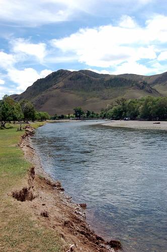 Tuul River, Terelj National Park, Mongolia