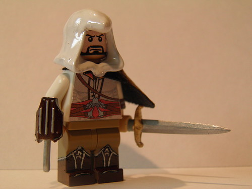 Custom Lego Ezio Auditore from Assassin's Creed 2 and Brotherhood