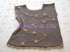 summer sweater (lilla1966) Tags: sweater knitting crochet cotton lam
