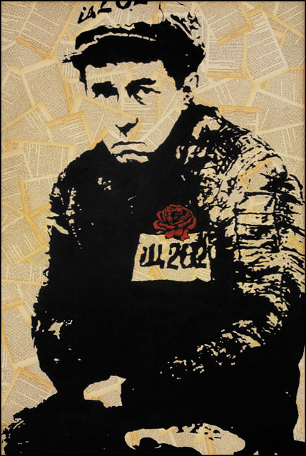 Portrait of Aleksandr Solzhenitsyn