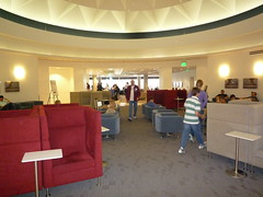 Rotunda in Delta SkyClub LAX