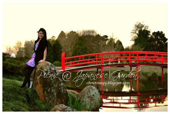 Picnic at Japanese Garden
