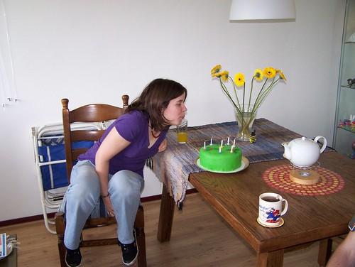 10delig feestje bij meffi thuis